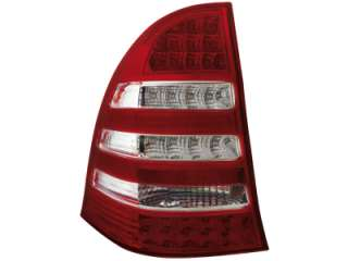 MB C Class W203 T Model LED Tail Lights red/crystal