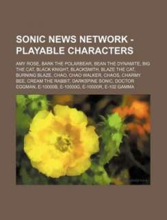 Sonic News Network   Playable Characters: Amy Rose, Bark the Polarbear