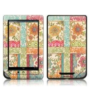 Ikat Floral Design Protective Decal Skin Sticker for
