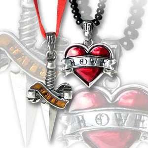 Love Hate Alchemy Gothic Necklace
