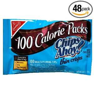 100 Calorie Packs, Chips Ahoy Cookies, 0.81 Ounce Packages (Pack of