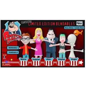 American Dad Bendables Limited Edition Box Set: Toys