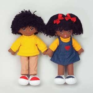 Dexter Toys Cuddly Doll   African American Girl Office