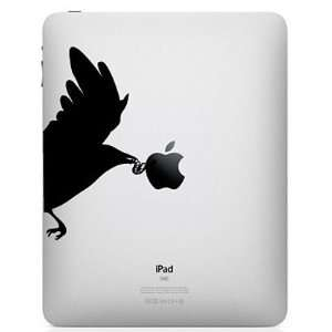 iPad Graphics   Bird Eating Worm Vinyl Decal Sticker