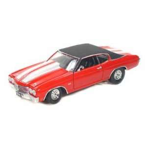 1970 Chevy Chevelle SS 454 Pro Street 1/24 Red: Toys