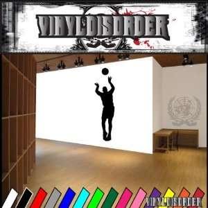Basketball Jumpshot Ball Bball Sport Sports Vinyl Decal