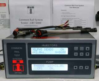 Common Rail Injector, Pump and Fuel Rail Tester