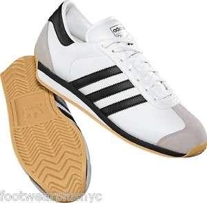 Adidas Originals Mens Country 2.0 Wht/Blk/Chrom G17072