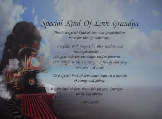 SPECIAL KIND OF LOVE GRANDPA POEM GIFTS FOR BIRTHDAY, CHRISTMAS