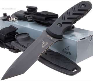 Gerber USA Yari II Tanto Tactical Combat/Fighting Knife Crucible CPM