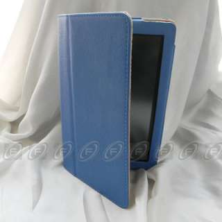 Folio PU Leather Case Cover w/Stand for  Kindle Fire 7 Tablet