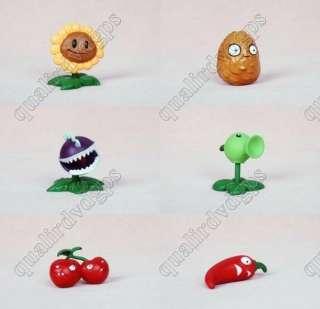 10pcs Plants vs Zombies Collection Figure PVZ Toys best gifts