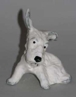 WAIN & SONS LTD MELBA WORKS FOX TERRIER DOG c. 1950
