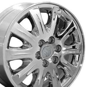 Factory Original Terazza 4069 OEM Wheels Fits Buick  Chrome Clad17x6.5
