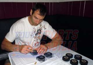 Zdeno Chara Boston Bruins signed autographed official Stanley Cup game