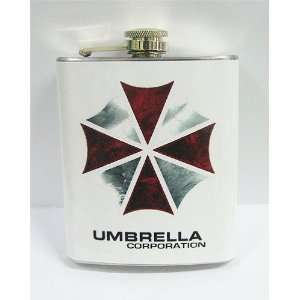 Resident Evil Umbrella Corp 7 oz Stanless Steel Flask
