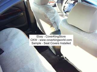 Seat Covers Custom Fit Combo 9pcs Combo Set Gray Blue Beige Charcoal