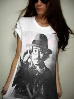 Johnny Depp Movie Star Icon T Shirt M