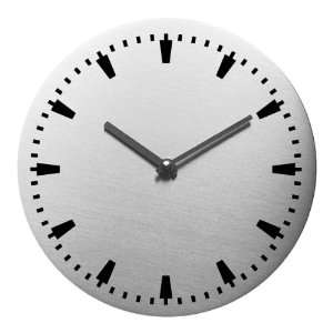 Steel Design Wallclock WALLI Ø 8 in. No.3422