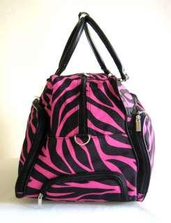 20 Duffel/Tote Bag Rolling Luggage Case Wheel Purse CarryOn Pink