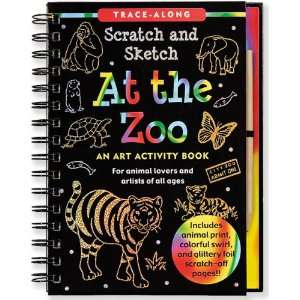 Scratch & Sketch (An Art Activity Book for Animal Lovers and Artists