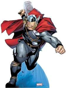 THOR LIFESIZE CARDBOARD STANDUP STANDEE CUTOUT POSTER PROP 1149