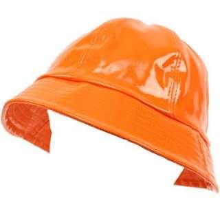 8ca601f7f2c ... Rain Bucket Hat Waterproof Packable Adjustable Orange ...