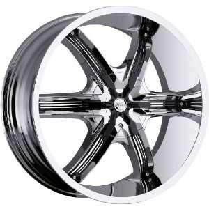 Air 6 5x127 5x5 5x135 +15mm Chrome Wheels Rims Inch 22 Automotive