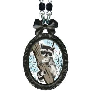 Classic Hardware Victorian Small Bow Frame Black Pendant