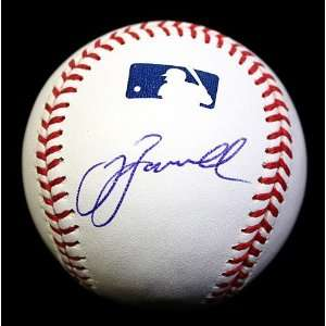Jeff Bagwell Signed Autographed Oml Baseball Psa/dna