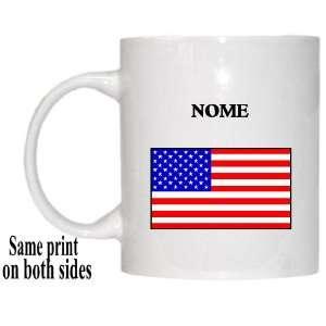 US Flag   Nome, Alaska (AK) Mug
