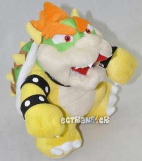 Super Mario Bros 10 BOWSER Plush Toy Doll/MT1681