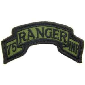 U.S. Army 75th Ranger Regiment Patch Green: Patio, Lawn