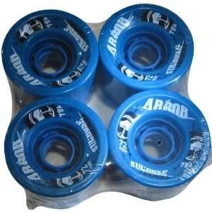 Set Freeride Series Skateboard Wheels   Blue / 72mm   78a: Automotive