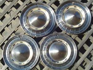 1955 CHEVROLET CHEVY BELAIR IMPALA HUBCAPS WHEEL COVERS