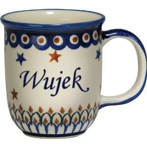 com New Polish Pottery 12oz Mug   WUJEK, UNCLE Patio, Lawn & Garden