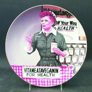 Hamilton Collection I LOVE LUCY Just Like Candy Plate