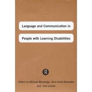 ): Michael Beveridge, Gina Conti Ramsden, Ivan Leudar: Books