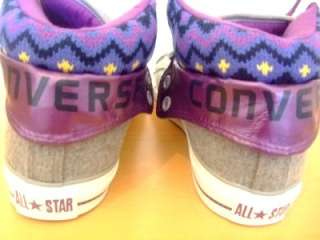 ORIGINAL MENS CONVERSE ALL STAR PC2 PADDED COLLAR 2 MID TRAINERS 7.5