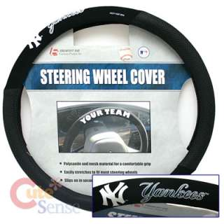 MLB New York Yankees Car/Truck Steering Wheel Cover