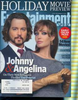 2010 Entertainment Weekly Angelina Jolie/Johnny Depp