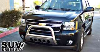 2007 2011 CHEVY TAHOE STAINLESS STEEL A BULL BAR GRILLE GUARD