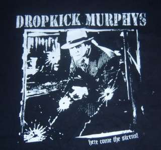 DROPKICK MURPHYS Here Come the Sirens Concert/TOUR Shirt XL