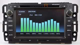 2007~2012 Chevrolet Silverado 1500 DVD GPS Navigation Radio 08 09 10