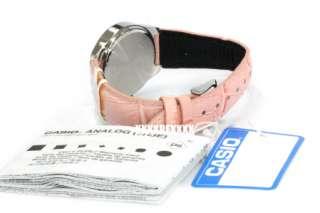 Casio Ladies Pink Genuine Leather LTP 2069L 4A 2069
