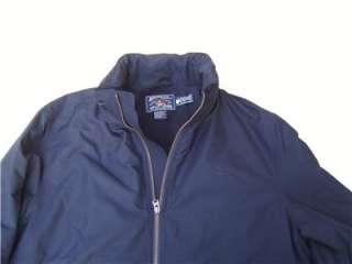American Living POLO Zip Hoodie Mens XL Jacket Coat Navy Fleece Blazer