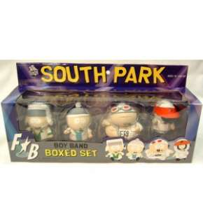 SOUTH PARK BOY BAND FIGURE BOX SET *NEW*
