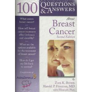 100 Question & Answers about Breast Cancer (9780763746766