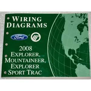 Trac, Mercury Mountaineer Wiring Diagrams Ford Motor Company Books