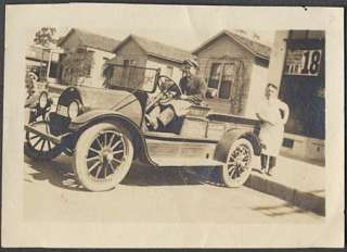 Car Photo 1910s Overland Grocery Delivery Truck 650710